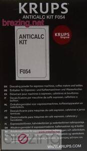 Krups entkalker f054 anleitung
