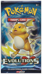 POKEMON EVOLUTIONS BOOSTER PACK AT TEDDY N ME