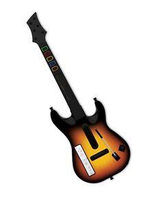 Deux guitares de wii pour guitar hero à vendre