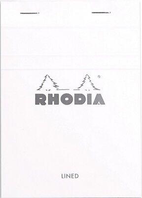 Rhodia Staplebound - Notepad - Ice - Lined - 4 X 6 Inch - New 13601w