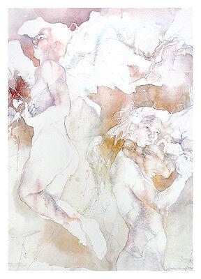 Dagmar Mezricky Ohne Titel Poster Kunstdruck Bild 68x49cm