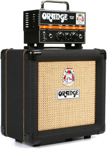 Orange Micro Dark Amp and Cab Stack
