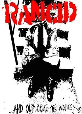 RANCID RARE NEW POSTER RADIO MID 2000'S VINTAGE COLLECTABLE