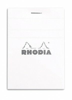 Rhodia Staplebound - Notepad - Ice - Graph Paper Micro-perforated 3 X 4 R11201w