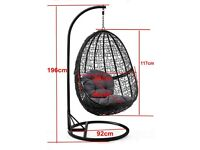 BRAND NEW STUNNING HANGING EGG CHAIR WITH FREE LOCAL DELIVERY!!!