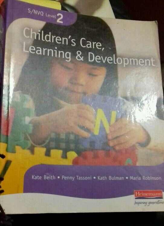 Childrens care, learning and development level 2