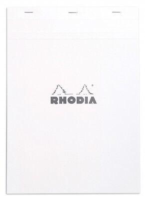 Rhodia Staplebound - Notepad - Ice - Graph - No. 18 - 8.25 X 11.75 - New R18201w