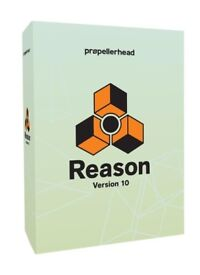 Reason 10 DAW Music production software. Full version