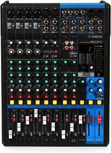 MG12XU Yamaha Console et interface audio USb avec effets intégrés *neuve Mixer