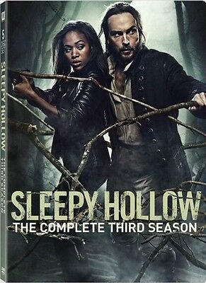 Sleepy Hollow: The Complete Third Season 3 (DVD, 2017, 5-Disc Set)