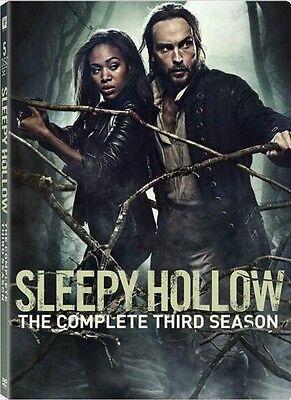 Sleepy Hollow: The Complete Third Season 3 (DVD, 2017, 5-Disc Set)