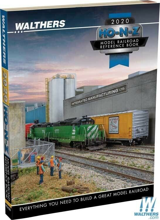 Walthers 913-220 2020 Reference Book HO,N, and Z Scale