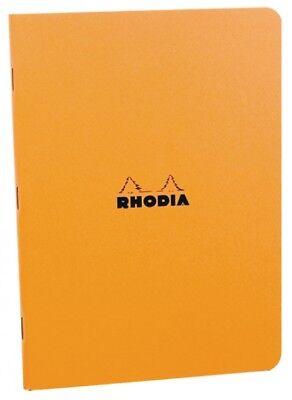 Rhodia Staplebound - Notebook - Orange - Lined - A5 Medium Size - 6 X 8.25