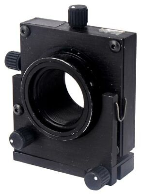 Optical Laser 3-axis Xyz Lens Positioner 2-screw Adjustment Kinematic Mount