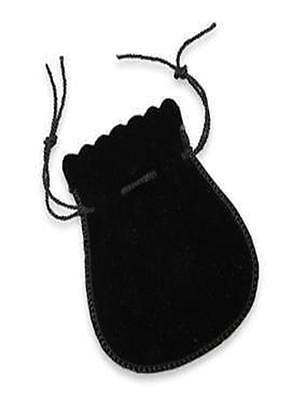 24 Velvet Drawstring String Pouches Bag Pear 1 And 2