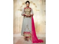 Buy latest Designer Long Salwar Kameez at Affordable Prices from Omzara