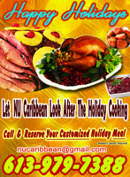 Christmas Catering With NU Caribbean