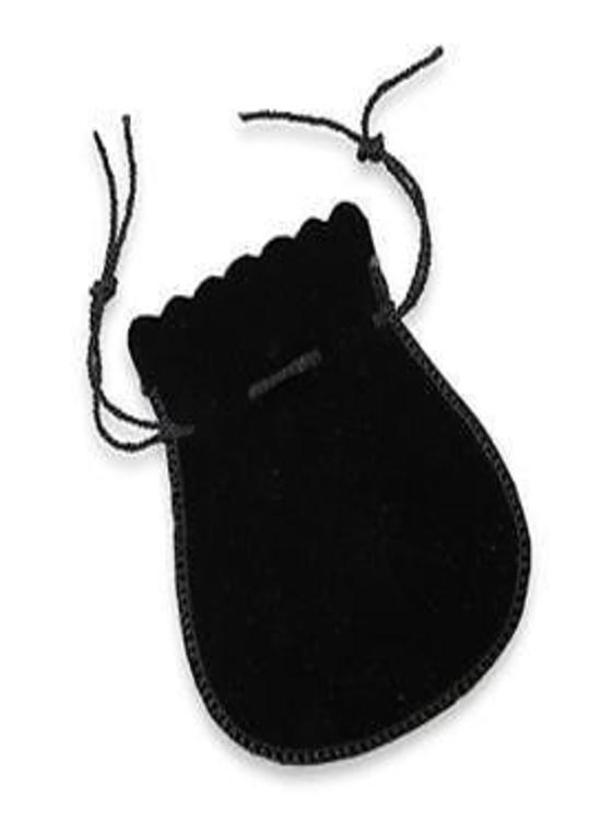 36 Velvet Drawstring String Pouches Bag Pear #1 #2 & #3