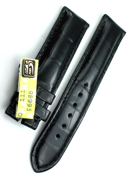 18mm XS Original Chronoswiss Alligator Watch Strap Uhrenarmband Band Damenlänge
