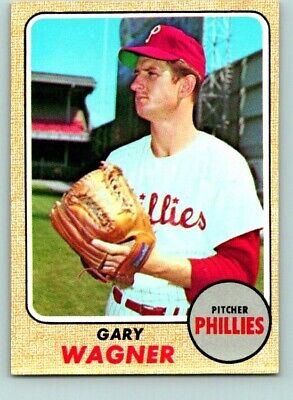 1968 TOPPS BASEBALL #448 GARY WAGNER      NRMT   BM