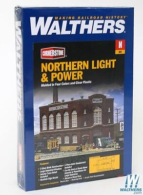 3214 Walthers Cornerstone Northern Light & Power Powerhouse - N Scale