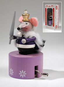 Steinbach Mouse King Wind Up Music Box 5