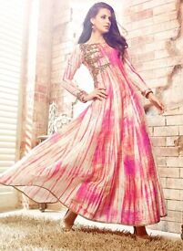 Buy Party Wear Anarkali Salwar Suit Online With Free shipping