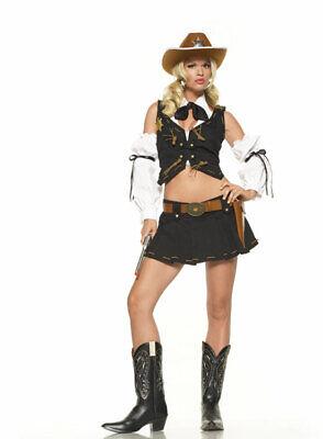 New! Good Sheriff Wild West Cowgirl Leg Avenue Costume - Sheriff Kostüm Leg Avenue