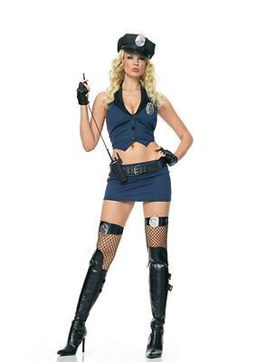 Authentic Leg Avenue 53051 Drill Sergeant Sexy Womens Halloween Costumes Sz S/M
