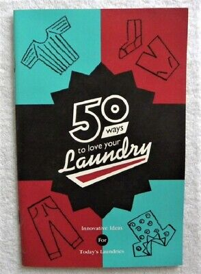 Vintage MAYTAG Washers, 50 Ways to Love Laundry, Newton, Iowa IA Color Booklet