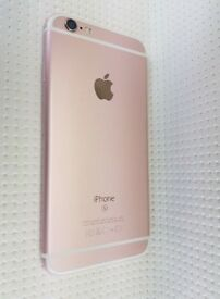 iPHONE 6S 64GB, WITH SHOP RECEIPT & WARRANTY, GOOD CONDITION, UNLOCKED, ROSE GOLD