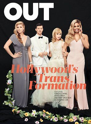 Out Magazine Oct 2016 Laverne Cox Whoopi Goldberg Trans In Hollywood Rys Ernst