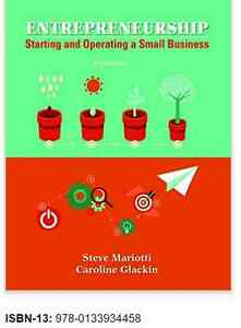 Looking for Textbook Entrepreneurship Start & Operate Small Bus