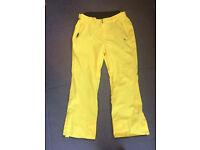 "Dare2b Mens Salopettes Yellow Size XXL (40"" waist) £25 ono"