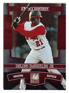 E12) 1x 2010 Elite DELINO DESHIELDS JR RC Rookie Lot *Houston Astros