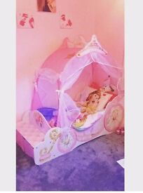 Toddlers Princess Bed