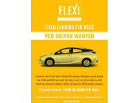 Minicab Driver Wanted - FIXED EARNING AND CASH IN HAND - PCO Drivers are welcome