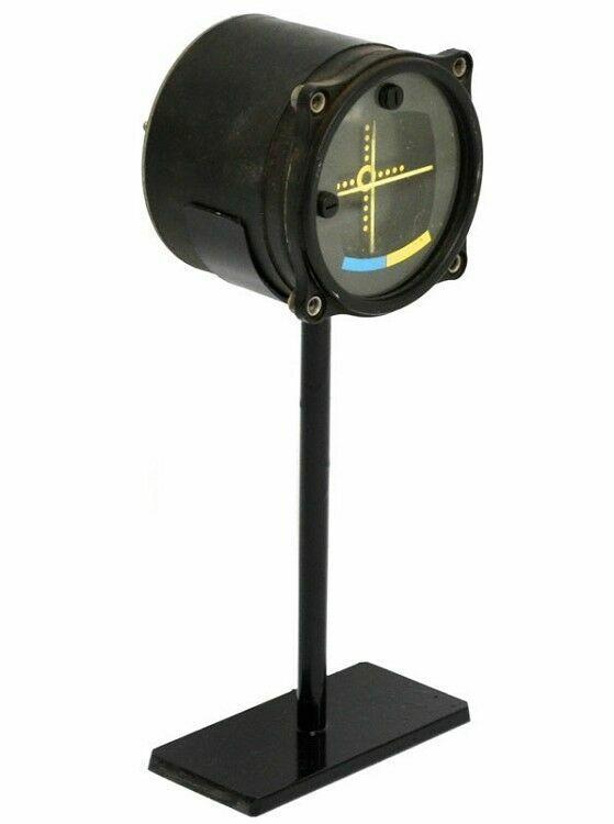 Authentic World War II Bomber Pilot Course Indicator Gauge
