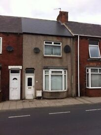 2 Bedroom terraced house to rent.Wheatley Hill,move in for free