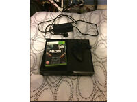 Xbox one with Controller and Call of Duty Black Ops