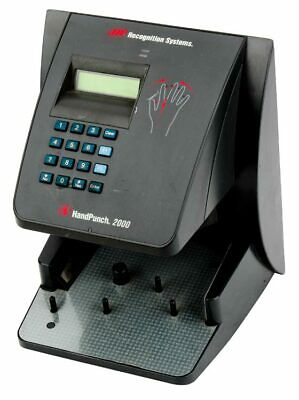 Handpunch 2000 Biometric Hand Ir Time Clock Terminal Parts