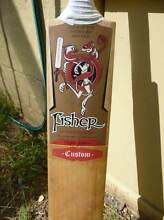 CRICKET BAT, Grade 1 ENGLISH WILLOW, Full Size, FISHER. Chelsea Kingston Area Preview
