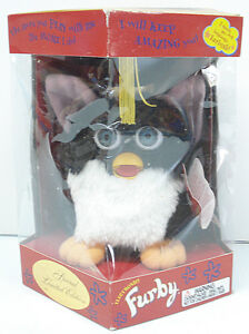 Furby 1999 Graduate Tiger Electronics Model 70-886 with Non Mint Box