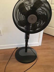 Fan with remote