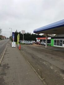 10 years leasehold car sales showroom, MOTstation repair centre established 40 years and big yard.