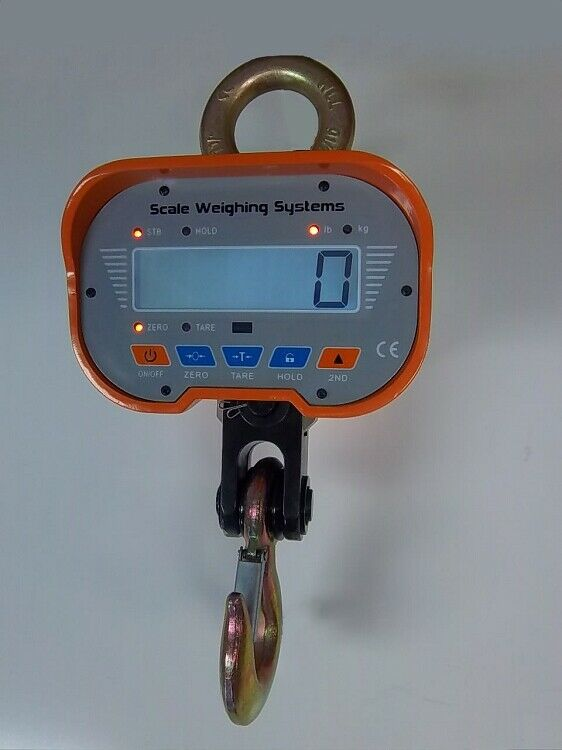 Scale Weighing Systems Heavy-Duty 2k LCD Display Crane Scale