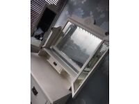 Triple Mirror Dressing Table / Chest of Draweres