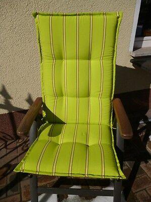 Sun Garden Hochlehner Auflage Prato Dessin 20278-51Streifen braun//beige//rot