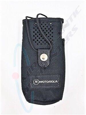 Motorola Hln9034a Radio Walkie Talkie Carry Case Belt Holster