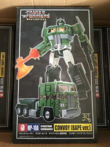 Transformers MASTERPIECE OPTIMUS PRIME CONVOY MP10A BAPE (Not Takara